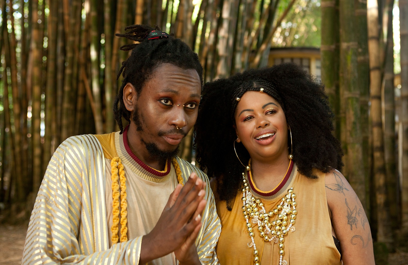 Rincon Sapiência azeita 'Dendê', álbum em que Janine Mathias mistura samba e rap