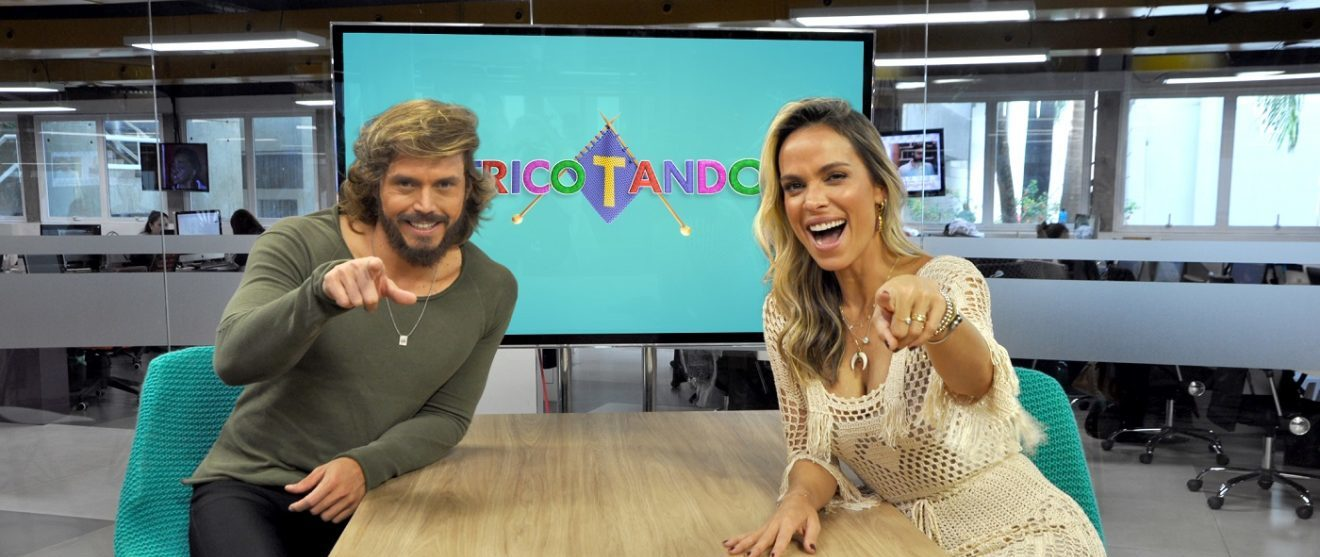 """Inspirado no Vídeo Show e Fofocalizando RedeTV! estreia o """"Tricotando"""""""