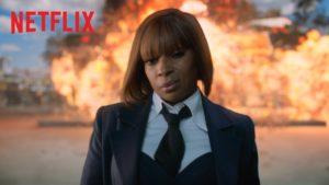 Veja os bastidores da gravação de Mary Blige para The Umbrella Academy