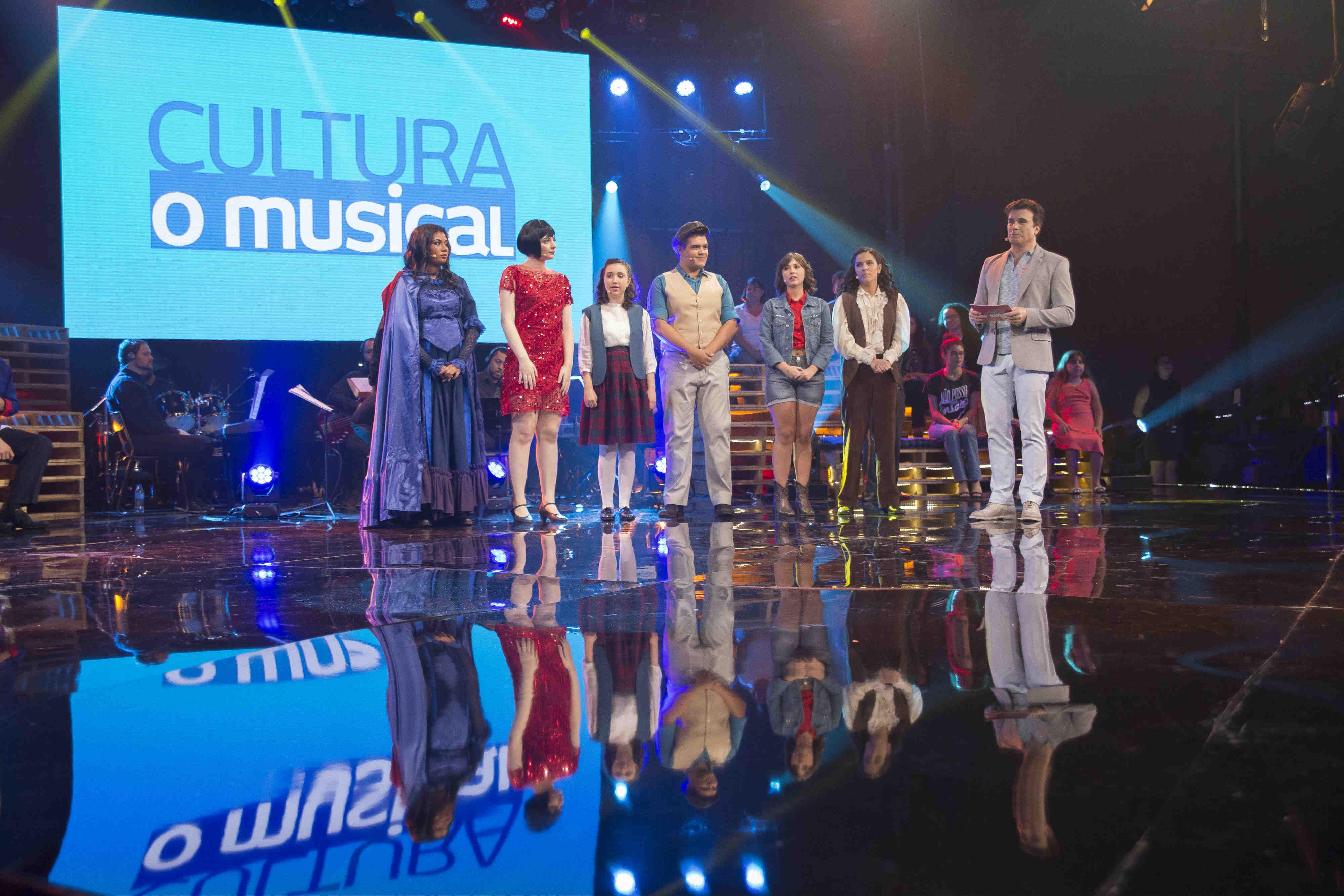 Maestro Júlio Medaglia encabeça júri da 4ª eliminatória de Cultura, o Musical  no ar neste domingo dia 5 de maio, 11h