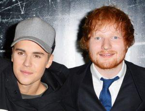 Ed Sheeran e Justin Bieber anunciam parceria em nova música