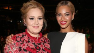Beyoncé e Adele cantam juntas em nova música do One Republic