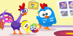 """SBT adquire os direitos de exibição do famoso desenho """"Galinha Pintadinha"""""""