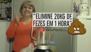 Receita de suco que promete eliminar 20 quilos de fezes em uma hora viraliza na internet, veja
