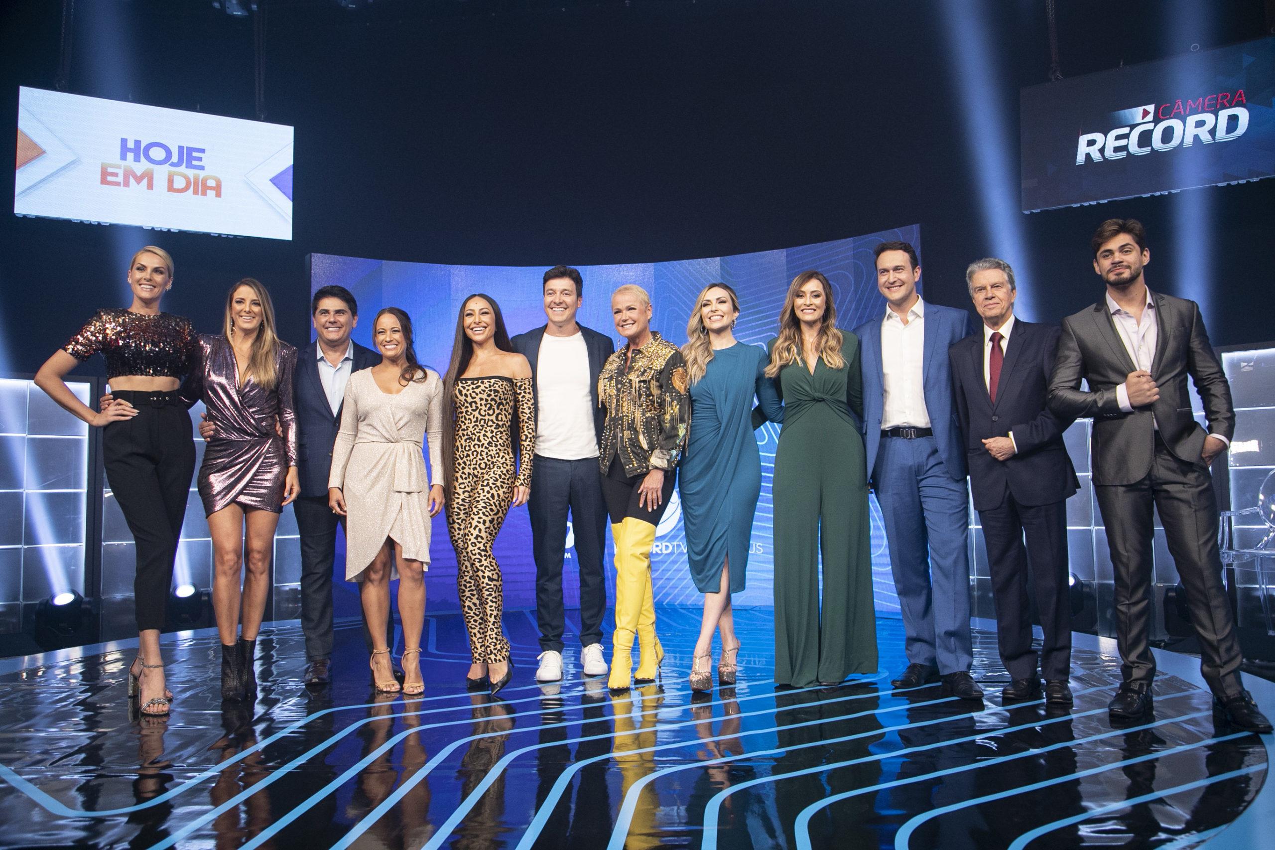 Record TV apresenta nova programação dos domingos