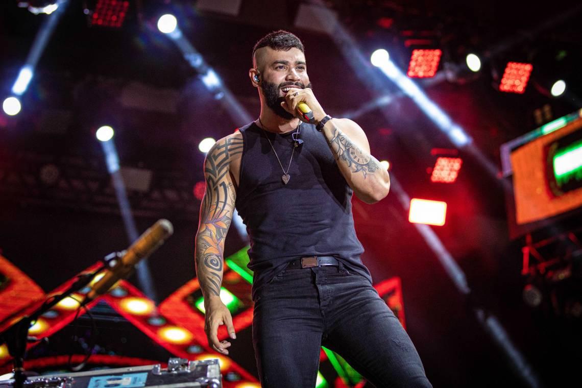 """Música na Band Live"" apresenta show de Gusttavo Lima"