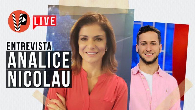 ENTREVISTA: Analice Nicolau fala sobre carreira, projetos e revela se vai assumir a bancada do SBT Brasil