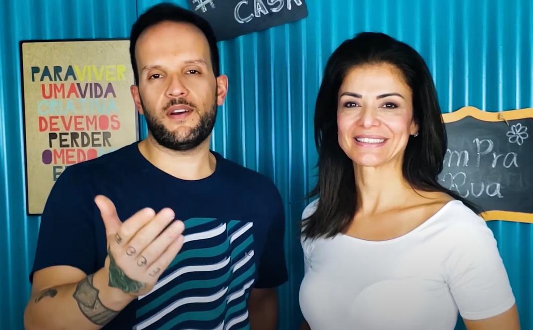 Analice Nicolau e o Chef Luiz Vidal apresentam episódios especiais do programa Vem Pra Rua, saiba mais