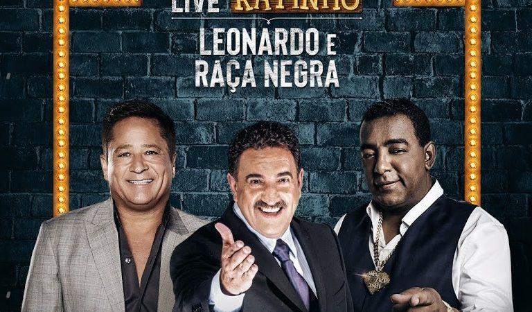LIVE | Assista AGORA a live do Ratinho com Raça Negra e Leonardo