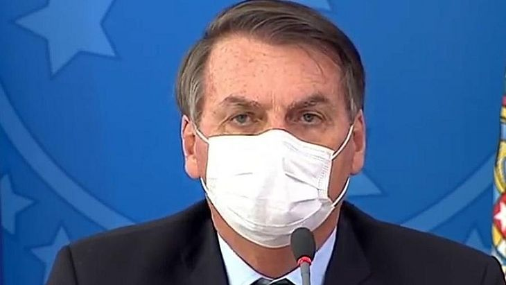 URGENTE: Bolsonaro confirma que seu exame para o coronavírus deu  positivo