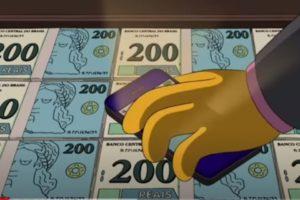 """De novo?! Os Simpsons """"previu"""" nota de R$ 200; veja vídeo"""