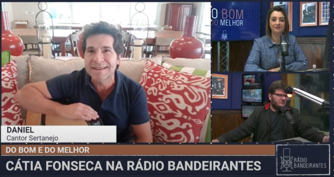 Daniel revela que se aproximou ainda mais de Roberto Carlos durante a quarentena