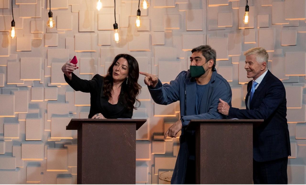 Ana Paula Padrão e Miguel Falabella apresentam o Prêmio Master Imobiliário com direção de Zeca Camargo