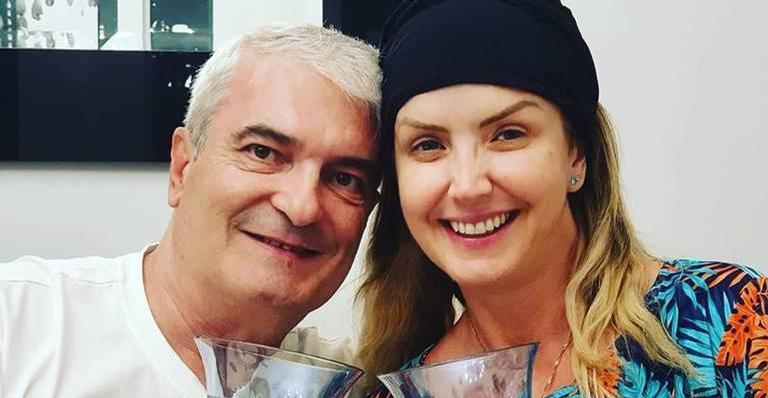 Prestes a comemorar 25 anos de casamento, marido de Alessandra Scatena morre vítima da Covid-19