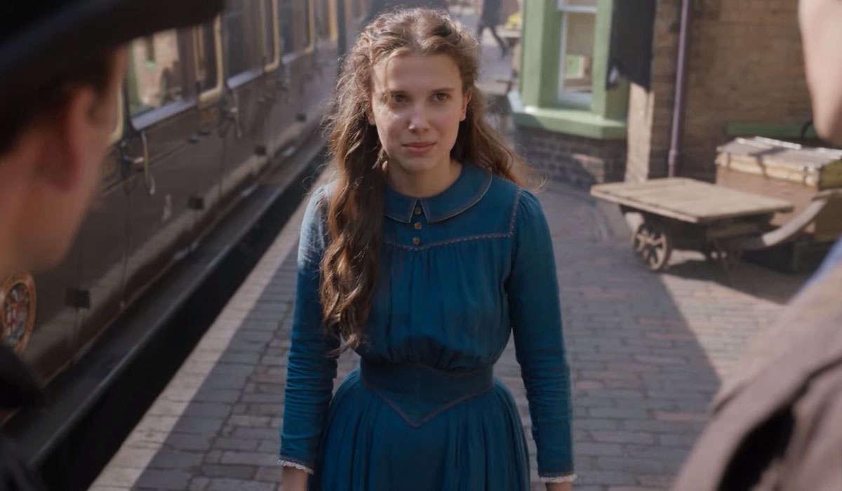 Millie Bobby Brown é ENOLA HOLMES em novo filme da Netflix