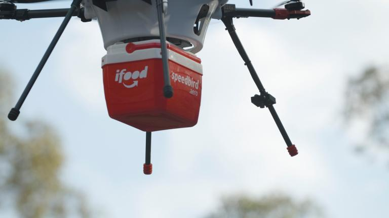 iFood recebe autorização para testar entregas por drones