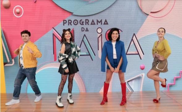 Fernanda Paes Leme e Giovanna Lancelotti são as convidadas do Programa da Maisa