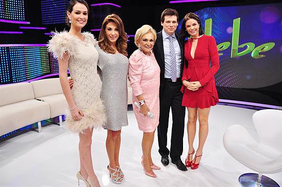 'RedeTV! 20 anos' relembra programa 'Hebe' com participação de Celso Portiolli