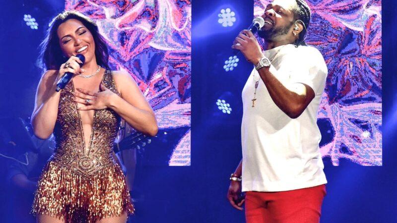 Pout-Pourri 'Coração Radiante' e 'Tá Escrito': Karinah estreia parceria com Xande de Pilares, assista