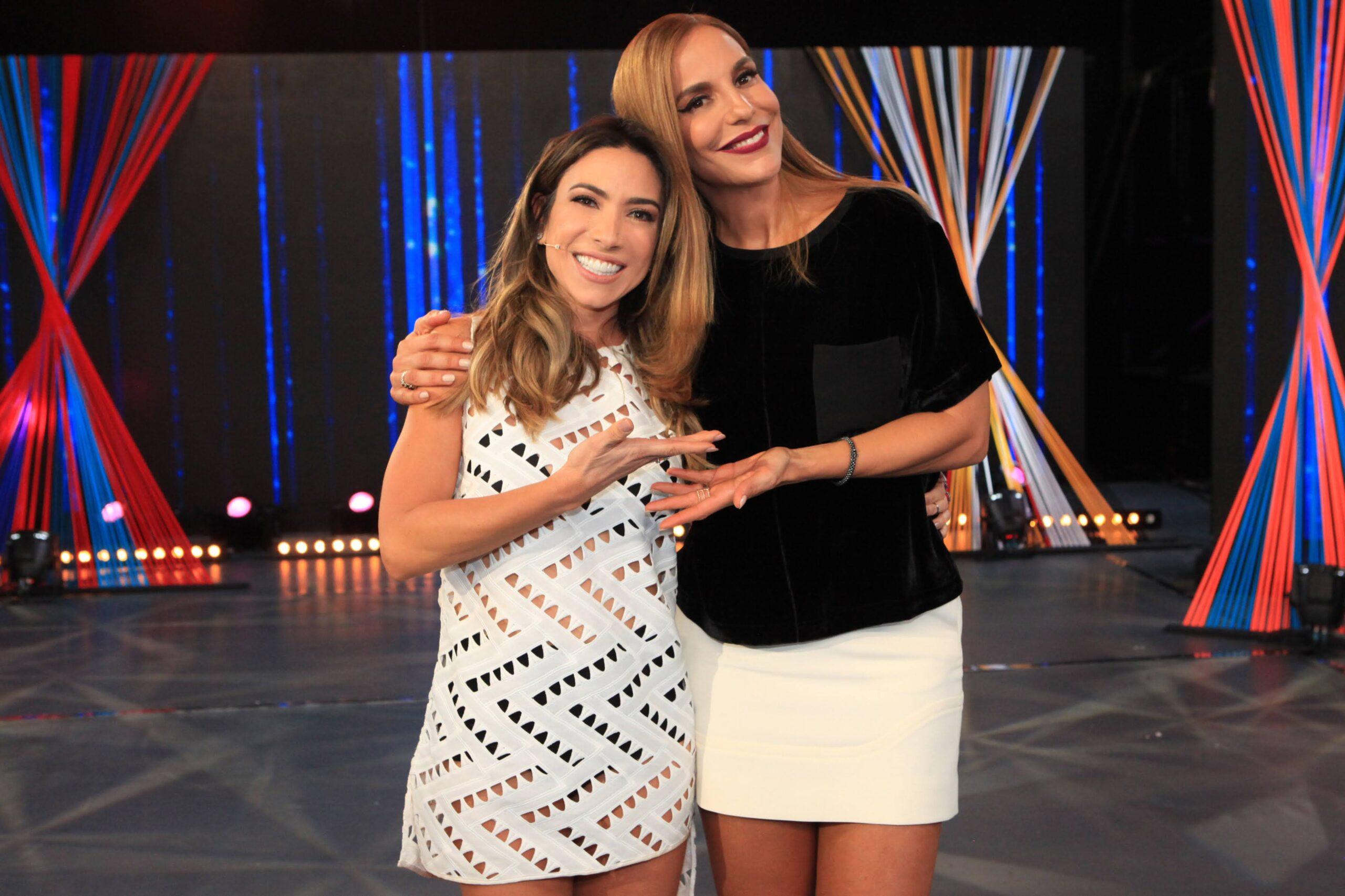 Patricia Abravanel recebe Ivete Sangalo no Máquina da Fama deste sábado (17)