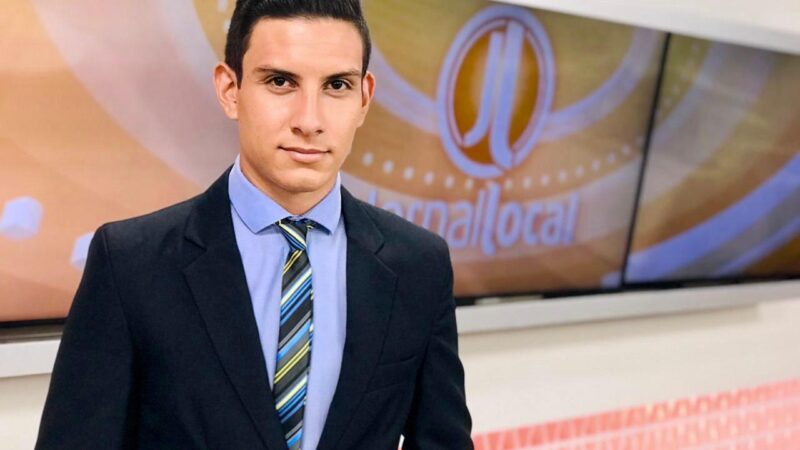 De fã a apresentador: Lucas Móbille estreia no comando do Jornal Local da RedeTV!/TV Brasília