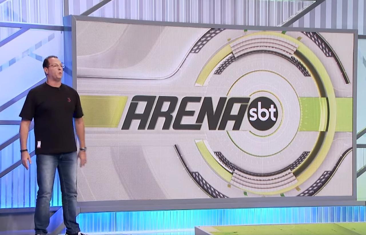 """SBT estreia o """"Arena SBT"""" no lugar de Cabrini, saiba mais"""