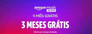 BLACK FRIDAY: Amazon Brasil dá 3 meses gratuitos de Music Unlimited, confira