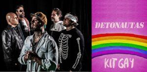 """Detonautas Roque Clube lança música """"Kit Gay"""", ouça"""