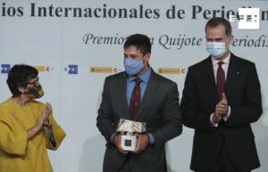 Em Madri, Câmera Record recebe pela terceira vez o prêmio de jornalismo Rei da Espanha