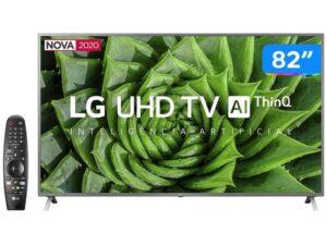 "BLACK FRIDAY: Smart TV UHD 4K LED 82"" LG faz sucesso, confira menor preço"