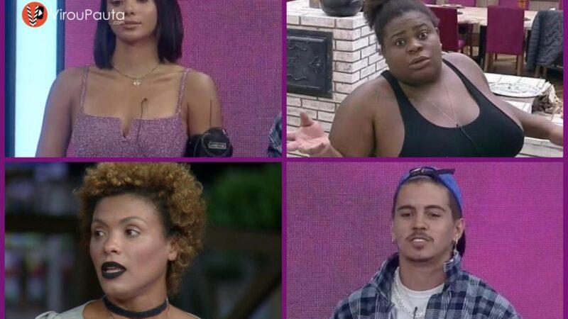 Jake, Biel, Lidi e Jojo estão na Roça de A FAZENDA 12