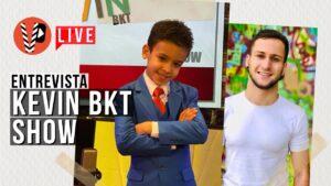 Menino de 8 anos chama atenção com PROGRAMA DE TV nos EUA em PORTUGUÊS, conheça o Kevin BKT Show