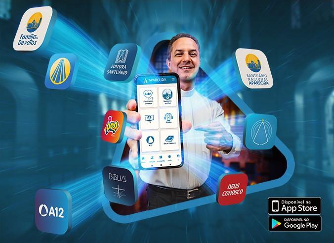 Rede Aparecida lança Aplicativo para unificar sua comunicação digital com o público
