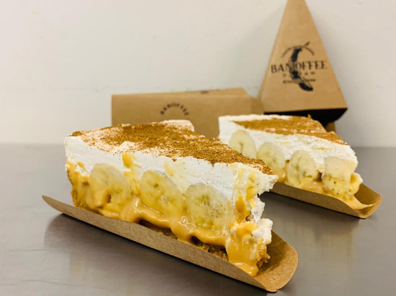 """Conheça a """"banoffee"""", a torta de banana Inglesa que virou sensação no Brasil"""