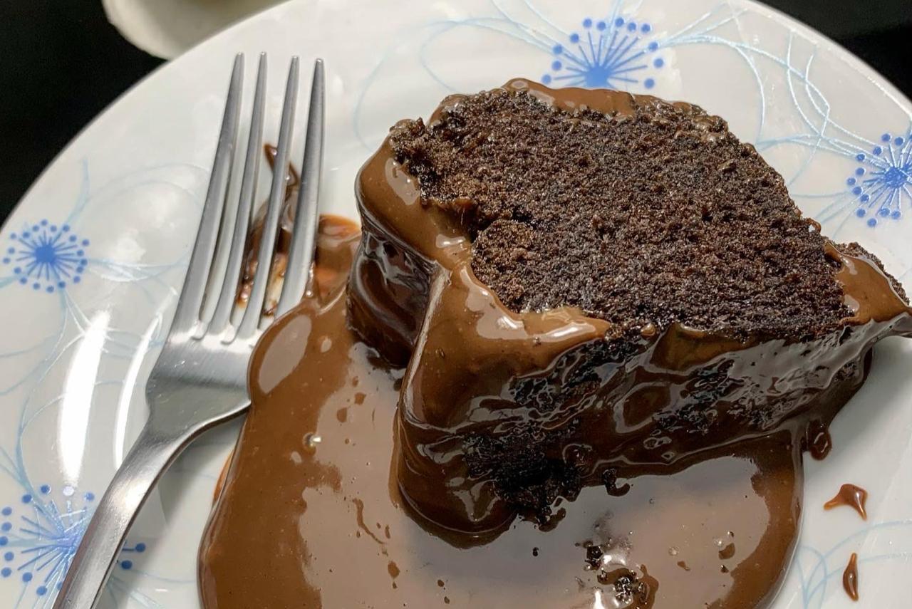 Receita de Bolo vulcão de Chocolate