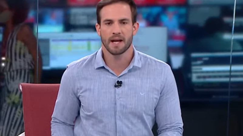 "CNN confirma Daniel Adjuto na bancada do ""Live CNN"""