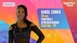 Karol Conká é a líder da semana na prova Coca-Cola no BBB21