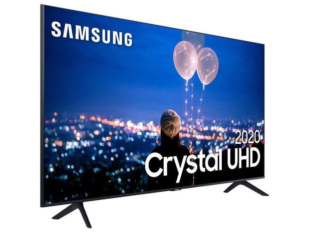 """PROMOÇÃO DO DIA: Smart TV Crystal UHD 4K LED 55"""" Samsung"""