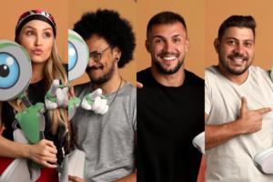 ENQUETE PAREDÃO FALSO: Carla, Caio, Arthur ou João? Vote em QUEM DEVE SAIR do BBB 21