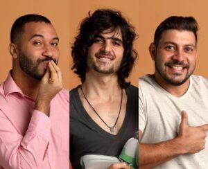ENQUETE PAREDÃO: Fiuk, Gil ou Caio? Vote em QUEM DEVE SAIR do BBB 21