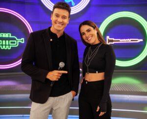 Wanessa Camargo e Guilherme & Benuto viram padrinhos de dupla sertaneja iniciante no Hora do Faro